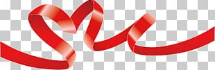 Valentine's Day Gift Ribbon PNG