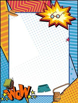 Poster Pop Art Illustration PNG