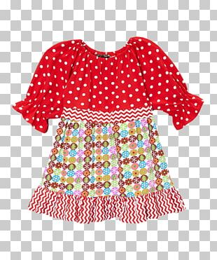 Polka Dot Slip Dress Clothing Ruffle PNG