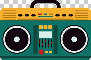 Microphone Boombox PNG