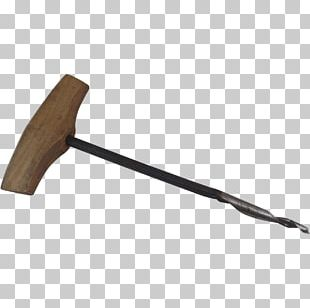 Tool Gimlet Screw Pickaxe Wood PNG