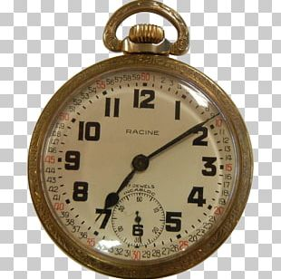Pocket Watch Clock Elinvar Dial PNG