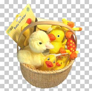 Ducks In The Window Food Gift Baskets Rubber Duck Hamper PNG
