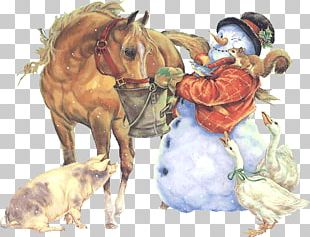 Christmas Day Winter Centerblog Snowman Pony PNG