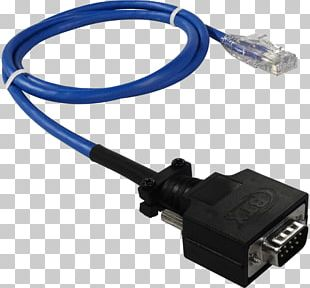 Serial Cable Electrical Connector RS-232 Electrical Cable Serial Port PNG
