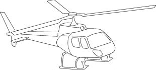Helicopter Drawing Airplane PNG