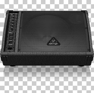 Audio BEHRINGER Eurolive F-D Series Loudspeaker Stage Monitor System Powered Speakers PNG
