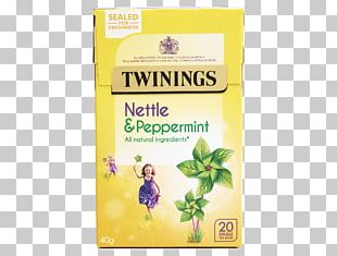 Green Tea Peppermint Twinings Tea Bag PNG