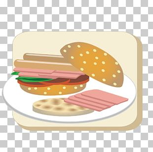 Hot Dog Hamburger Fast Food Toast Sandwich PNG