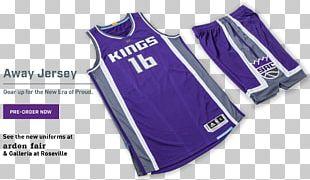 Jersey Sacramento Kings 2016–17 NBA Season Purple Basketball Uniform PNG