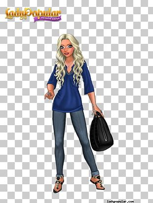 Lady Popular Fashion Game Clothing Costume PNG
