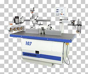 Machine Tool Wood Shaper Moulder Machining PNG