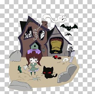 Como Dibujar YouTube Drawing Haunted House PNG