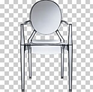 Dining Room Chair Kartell Cadeira Louis Ghost Table PNG
