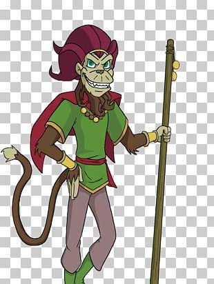 Sun Wukong Cryptograf Art Monkey Drawing PNG