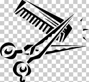 Comb Hair-cutting Shears Scissors PNG