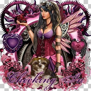 Fairy The Woman Warrior Pink M PNG