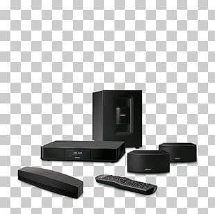 Home Theater Systems Loudspeaker Bose Corporation Bose 5.1 Home Entertainment Systems Subwoofer PNG