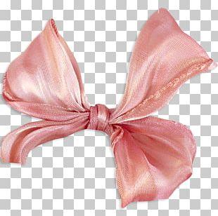Hair Tie Silk Pink M PNG