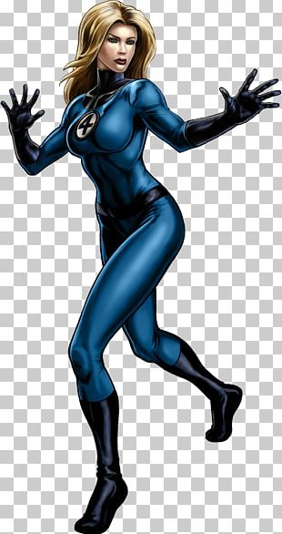 Marvel: Avengers Alliance Black Widow Human Torch Loki Invisible Woman PNG