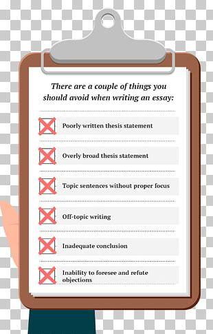 Essay School Writing Organization Document PNG