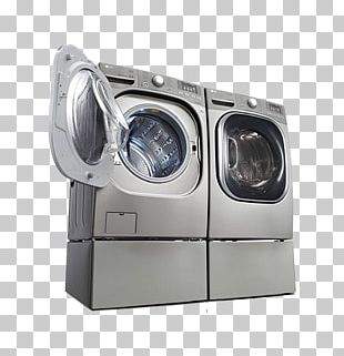 Washing Machine Clothes Dryer Combo Washer Dryer LG Electronics Home Appliance PNG
