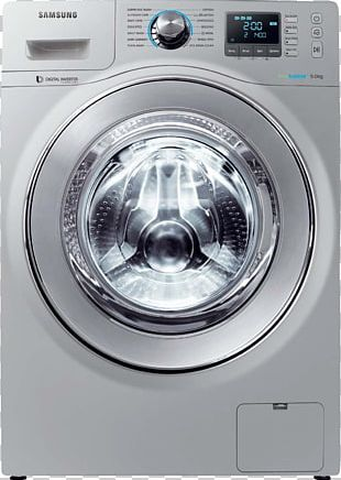 Washing Machine Combo Washer Dryer Clothes Dryer Laundry Home Appliance PNG