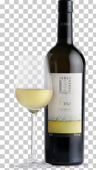 White Wine Manzanilla Palomino Fortified Wine PNG