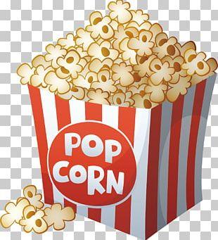 Popcorn Cartoon Film Drawing PNG