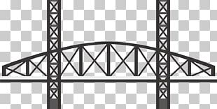Black And White Bridge PNG