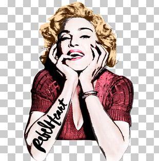 Madonna Rebel Heart Pop Art PNG