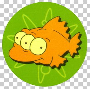 Bart Simpson Two Cars In Every Garage And Three Eyes On Every Fish Tazos Blinky PNG