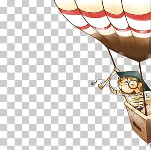 Travel Cartoon Balloon Illustration PNG