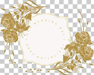 Wedding Invitation Flower Floral Design PNG