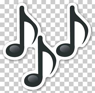 Emoji Musical Note Sticker PNG