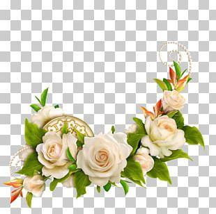 Wedding Cake Rose Flower PNG