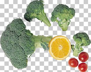 Broccoli Cherry Tomato Vegetarian Cuisine Food PNG