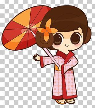 Japanese Art Cartoon Character Drawing PNG