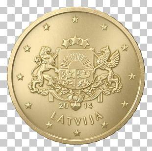 Latvian Euro Coins 20 Cent Euro Coin 1 Cent Euro Coin 50 Cent Euro Coin PNG