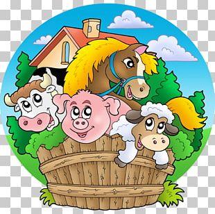 Animal Drawing Farm PNG