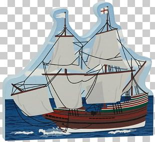 Brigantine Galleon Caravel East Indiaman PNG