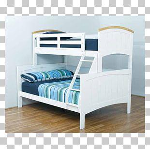Bunk Bed Trundle Bed Bedside Tables Bed Frame PNG