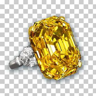 Diamond Cut Ring Emerald Diamond Color PNG