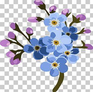 Flower Violet Lilac Floral Design Purple PNG