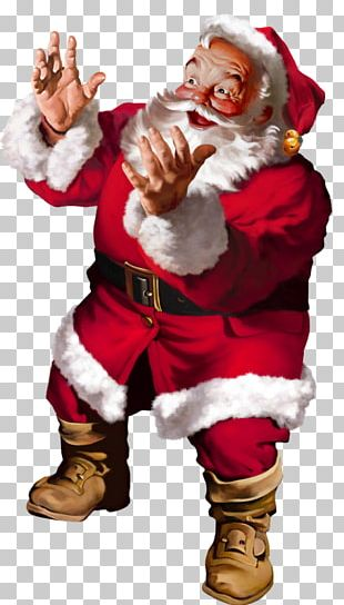 Santa Claus Ded Moroz Père Noël Christmas PNG