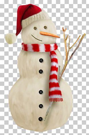 Snowman Santa Claus Christmas Decoration Hat PNG