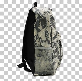 Khaki Backpack PNG