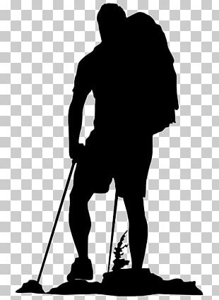 Hiking Backpacking Graphics Silhouette PNG
