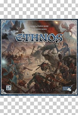 One-card Board Game CMON Ethnos Player PNG