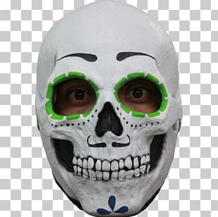La Calavera Catrina Day Of The Dead Mask Halloween Costume PNG